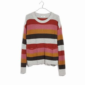 Madewell Patch Pocket Pullover Sweater XXL
